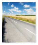 On The Road Fleece Blanket