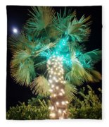 Outdoor Christmas Decorations Fleece Blanket