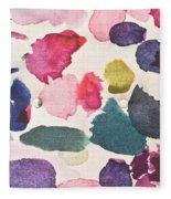 Paint Stains Fleece Blanket