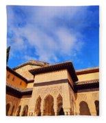 Palacios Nazaries In Granada Fleece Blanket