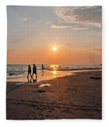 Panama City Florida Fleece Blanket