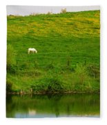 Pasture Fleece Blanket