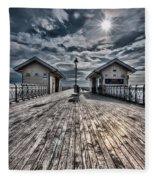 Penarth Pier 2 Fleece Blanket