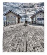 Penarth Pier 3 Fleece Blanket