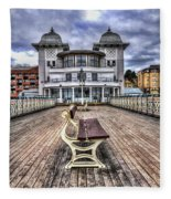 Penarth Pier Pavilion Fleece Blanket