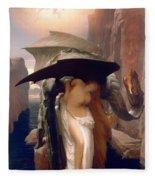 Perseus And Andromeda  Fleece Blanket