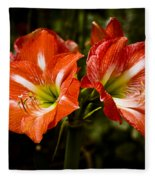 Petal Pair Fleece Blanket