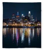 Philadelphia Reflections Fleece Blanket