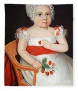Phillips' The Strawberry Girl Fleece Blanket