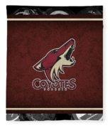 Phoenix Coyotes Fleece Blanket