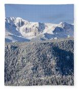 Pikes Peak Snow Fleece Blanket
