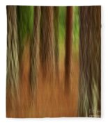 Pine Trees Fleece Blanket