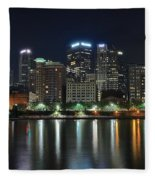 Pittsburgh Panorama Fleece Blanket