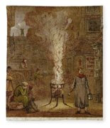Plague Of London, 1665 Fleece Blanket