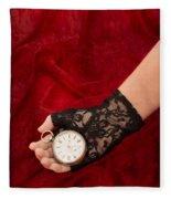 Pocket Watch Fleece Blanket