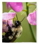 Pollination Nation V Fleece Blanket