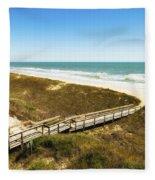 Ponte Vedra Beach Fleece Blanket