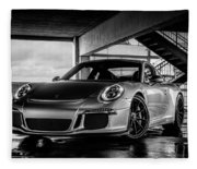 Porsche 911 Gt3 Fleece Blanket