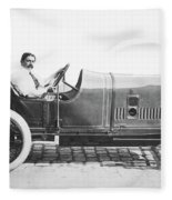 Race Car, 1914 Fleece Blanket