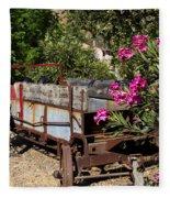 Ranch Wagon Cross Over Fleece Blanket