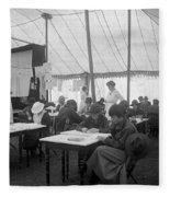 Red Cross, 1916 Fleece Blanket