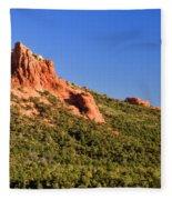 Red Rock Formation Sedona Arizona 27 Fleece Blanket