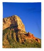 Red Rock Formation Sedona Arizona 28 Fleece Blanket