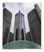 Renaissance Center Fleece Blanket