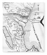 Revolutionary War Plan Fleece Blanket
