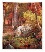 Richards' October Fleece Blanket