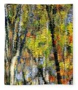Rippley Reflection Fleece Blanket
