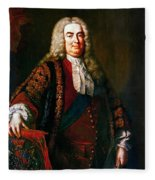 Robert Walpole (1676-1745) Fleece Blanket