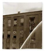 Rochester Show Case Co. Fire New York State Circa 1904 Fleece Blanket