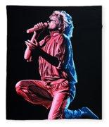 Rod Stewart Fleece Blanket