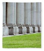 Roman Architecture Fleece Blanket
