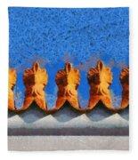Roof Decoration Fleece Blanket