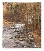 Running Water Fleece Blanket