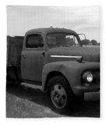 Rusty Ford Truck 2 Fleece Blanket
