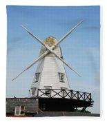 Rye Windmill Fleece Blanket