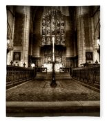 Saint Marks Episcopal Cathedral Fleece Blanket