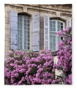 Saint Remy Windows Fleece Blanket