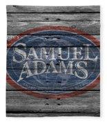 Samuel Adams Fleece Blanket