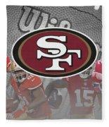 San Francisco 49ers Fleece Blanket