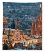 San Miguel De Allende, Mexico Fleece Blanket