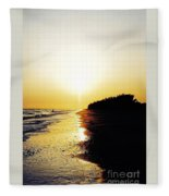 Amazing Sanibel Sunset Fleece Blanket
