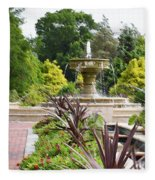 Sarah Lee Baker Perennial Garden  4 Fleece Blanket