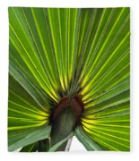 Saw Palmetto  Fleece Blanket