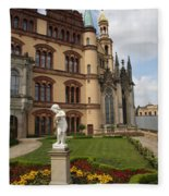 Schwerin - Palace - Germany Fleece Blanket