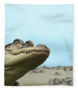 See You Later Alligator Fleece Blanket
