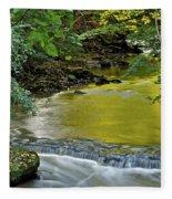Serene Stream Fleece Blanket